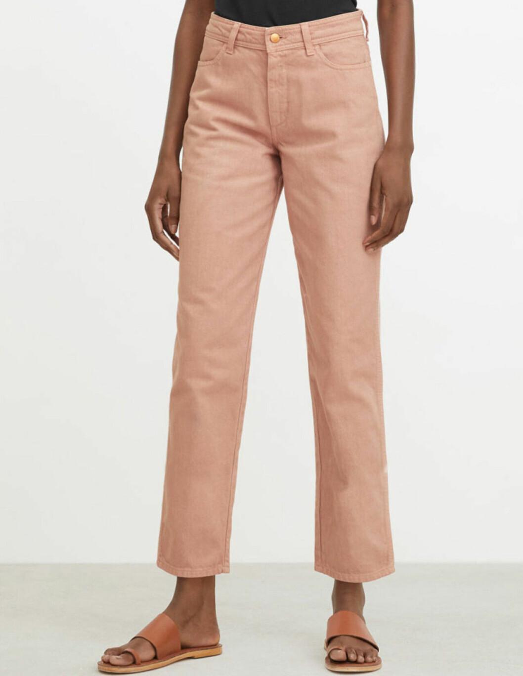 Ljusrosa jeans från Rodebjer för dam