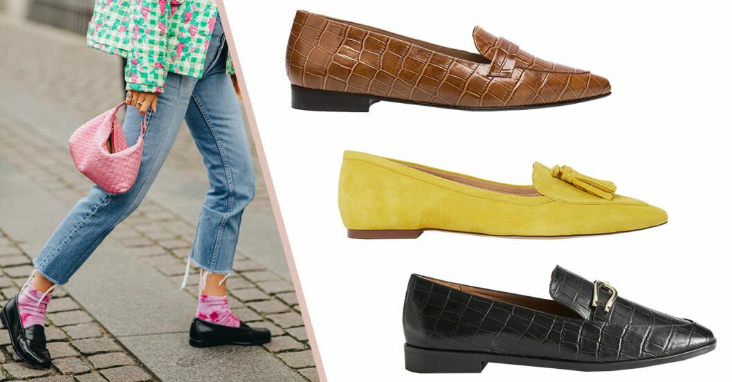 Vårskor 2020: Loafers för dam i olika prisklasser