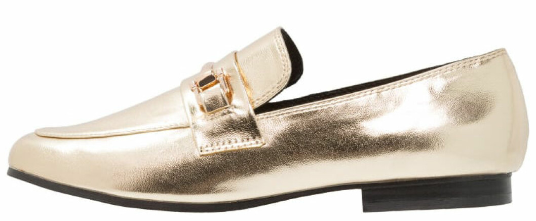 loafers metallic