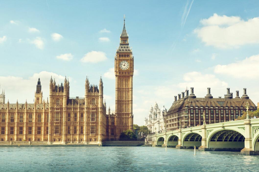London weekend höst