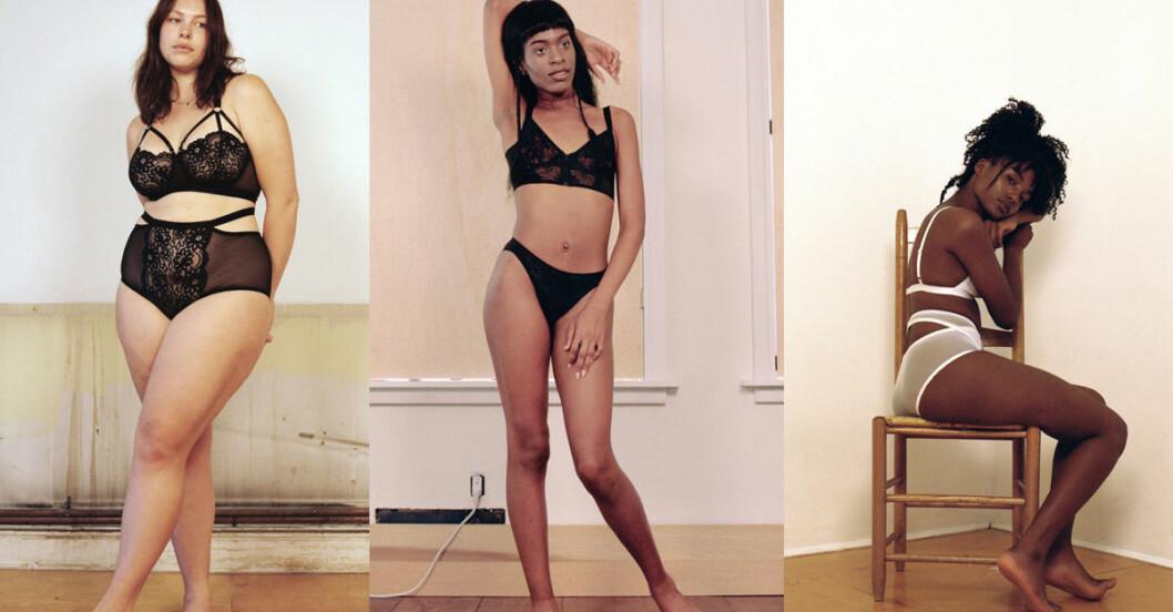 lonely lingerie kampanj oretuscherad