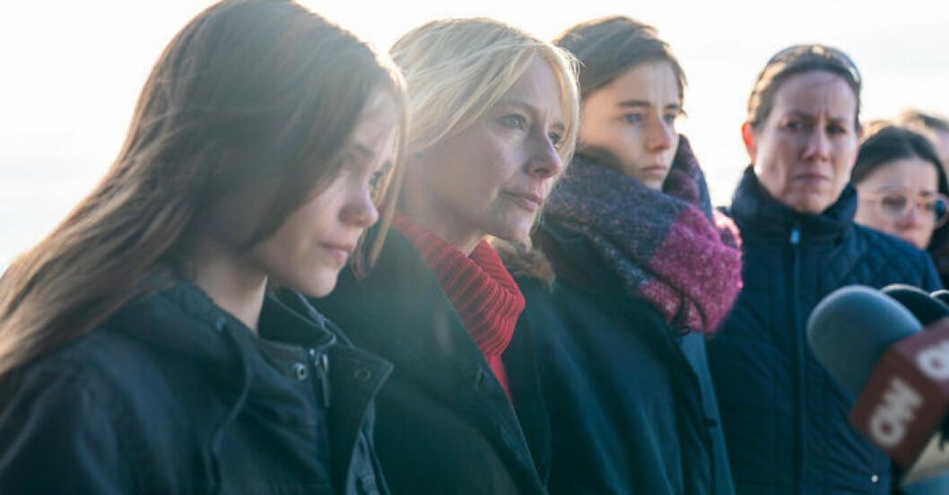 En bild från filmen Lost Girls på Netflix.