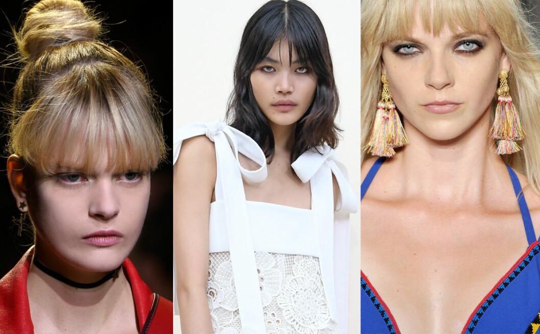 frisyr hår trender våren 2017