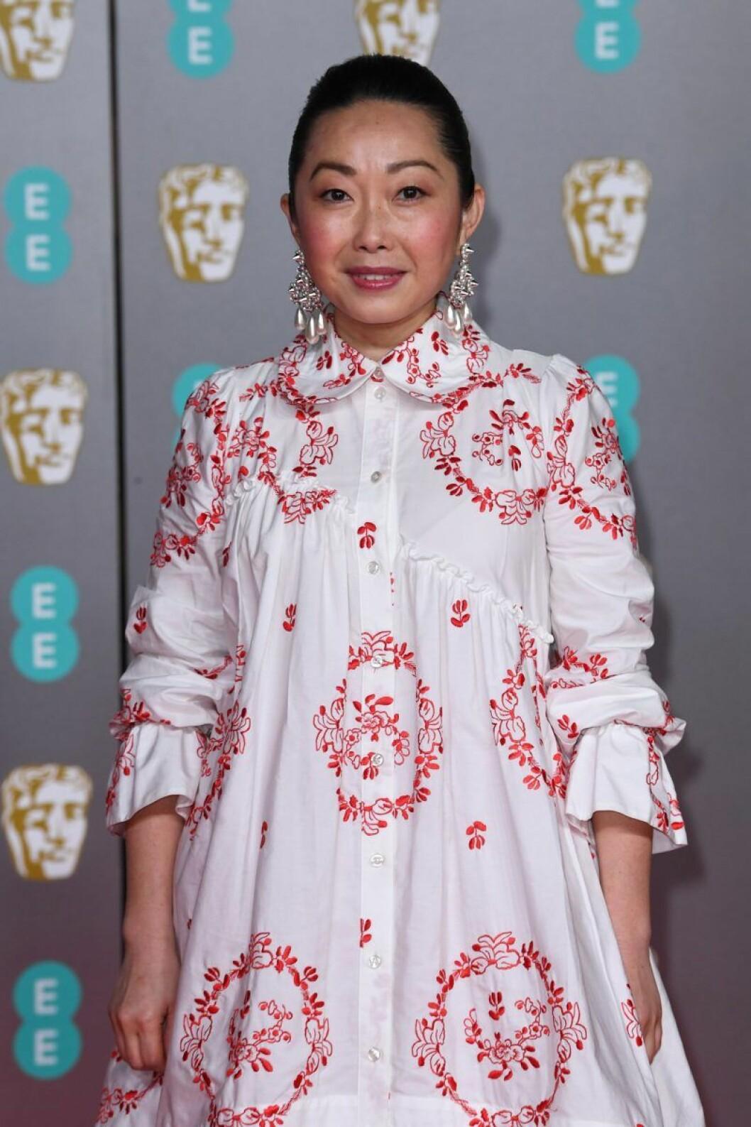Lulu Wang på Bafta-galan 2020.