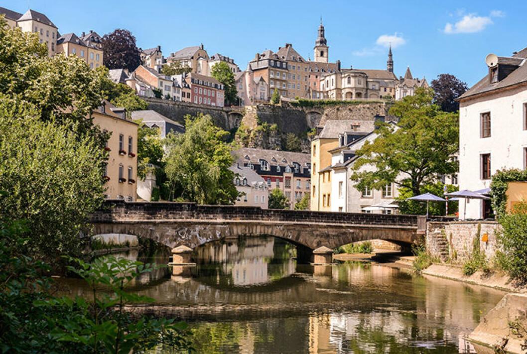 Vackra Grund i Luxemburg