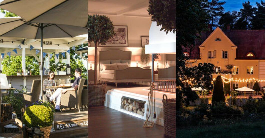 Lyxiga hotell i Skåne