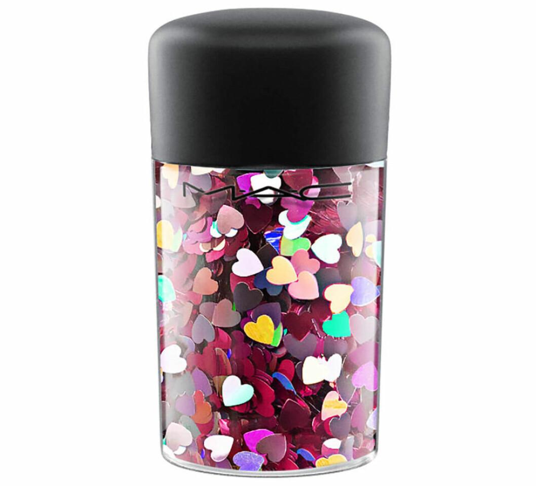 En bild på produkten Glitter Pink Hearts från Mac Cosmetics.