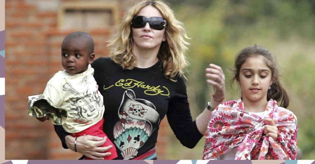 Madonna med sina barn