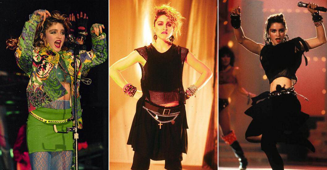 Madonna på 80-talet.
