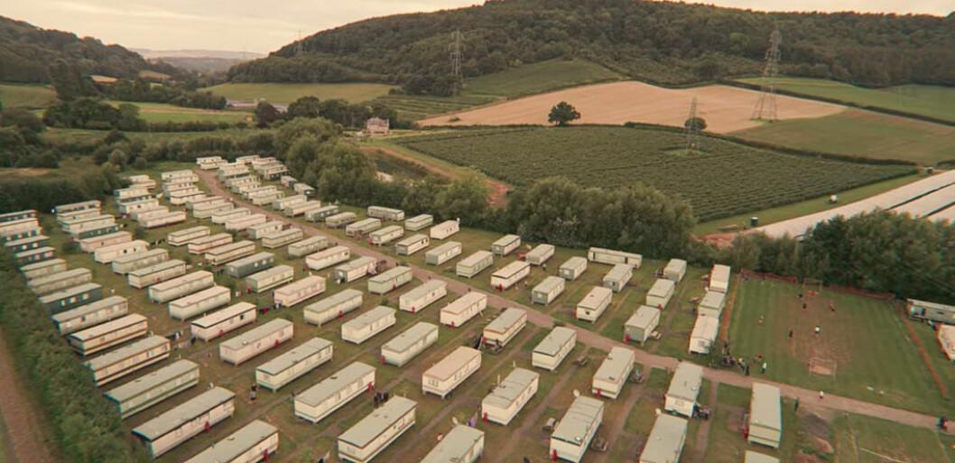 Trailerparken där Maeve bor.