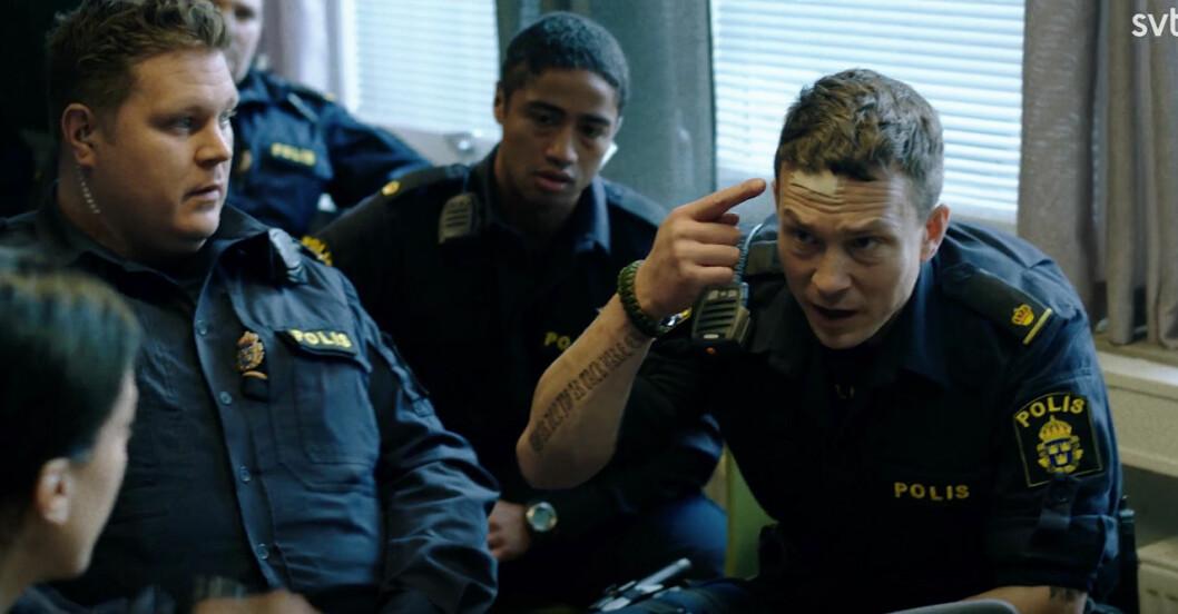 Magnus i Tunna blå linjen avsnitt 8.