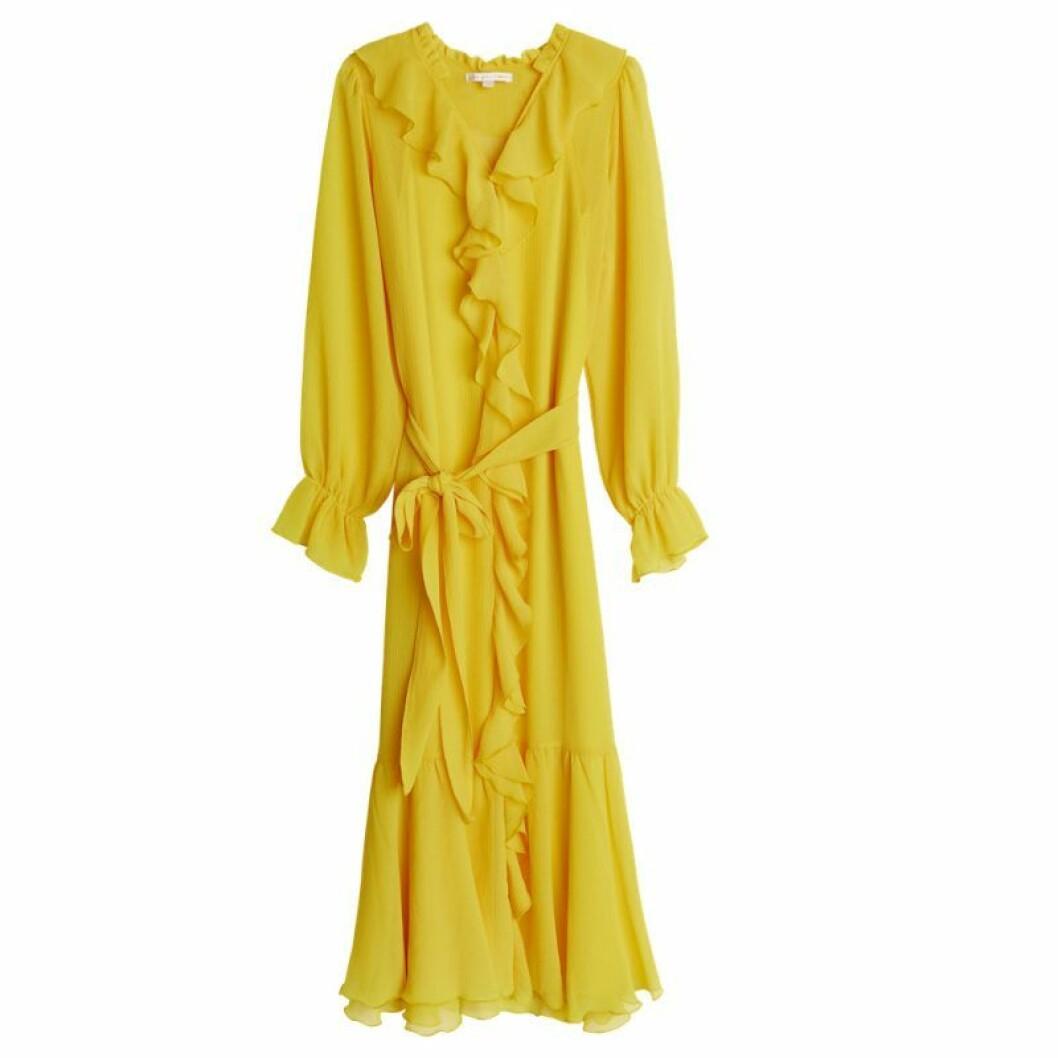 gul klänning från gina tricot maja
