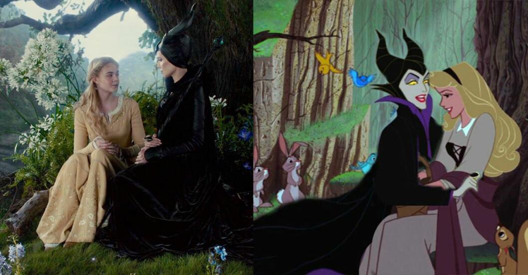 Maleficent och aurora