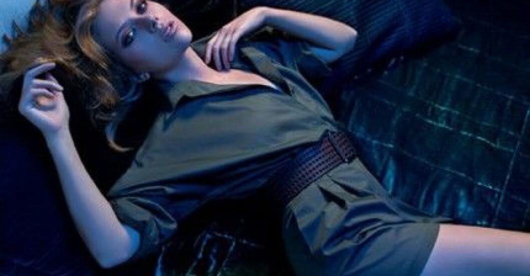 Scarlett Johansson för Mango, S/S 2010.