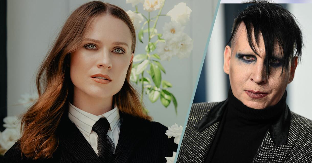 Evan Rachel Wood anklagar Marilyn Manson för övergrepp