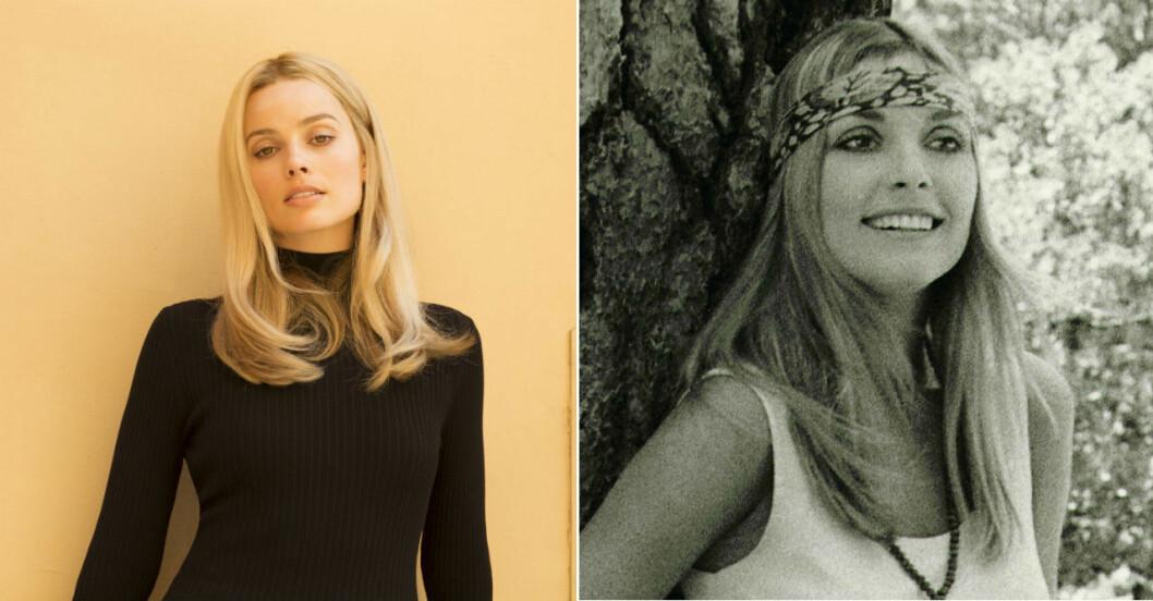 Margot Robbie som Sharon Tate.