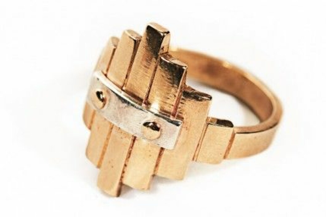 Maria Nilsdotter for Laroche: Barrel ring, 1 995 kr.