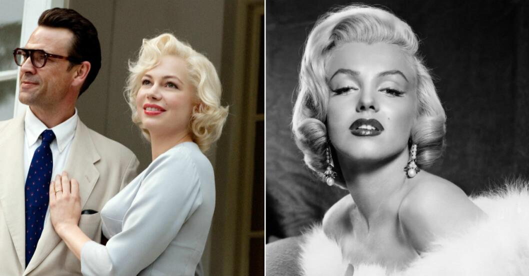 Michelle Williams som Marilyn Monroe.