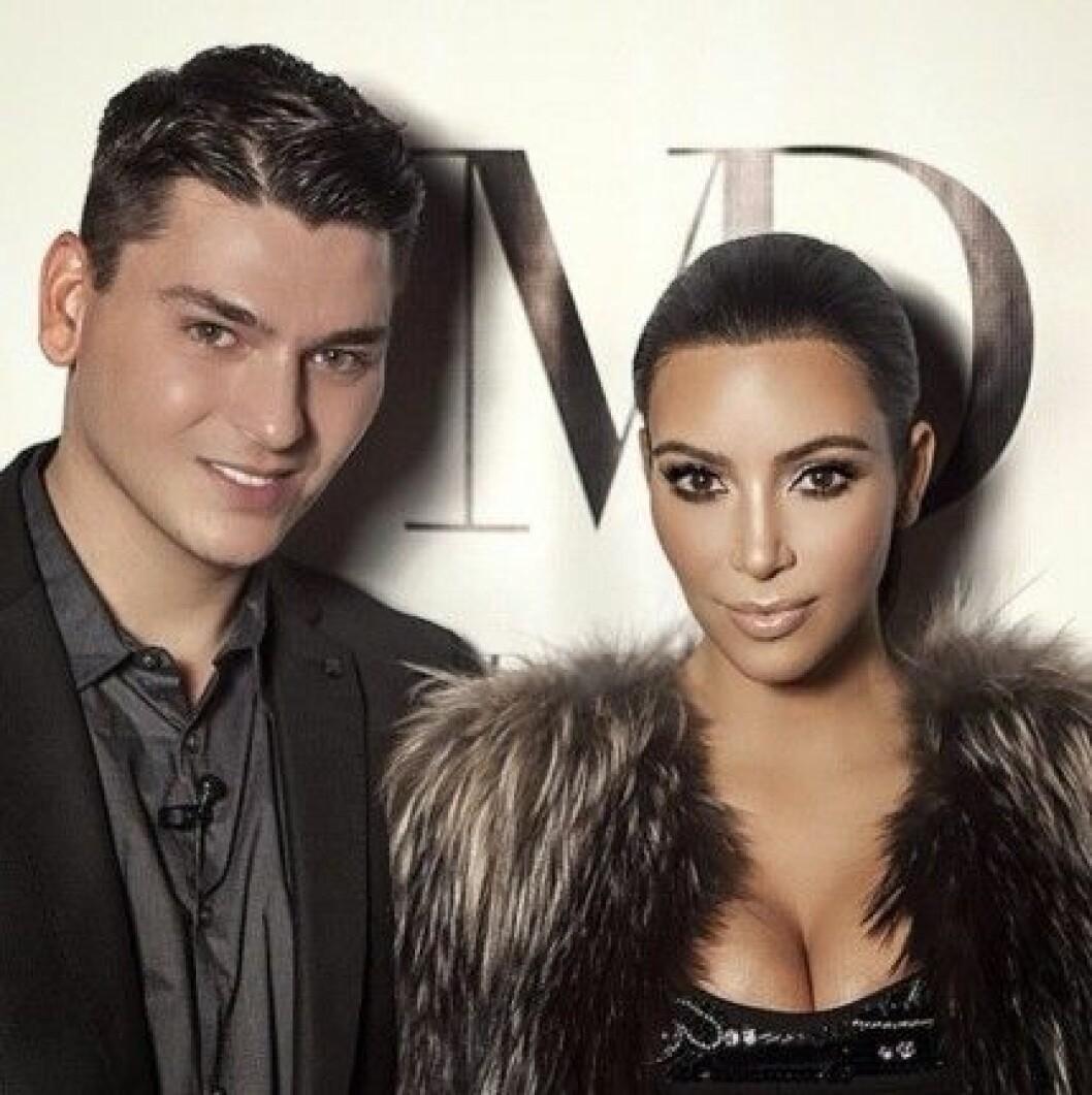 mario dedivanovic makeupartist kim kardashian