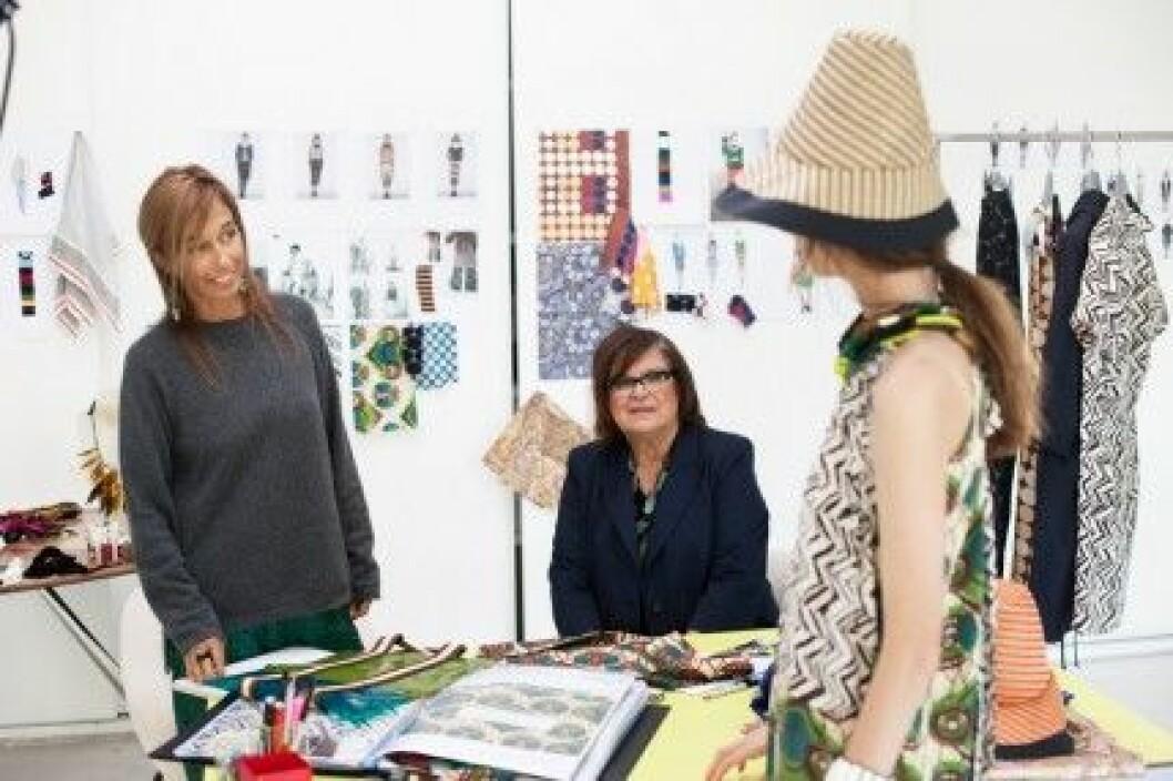 Marni at H&M lanseras den 8 mars 2012.