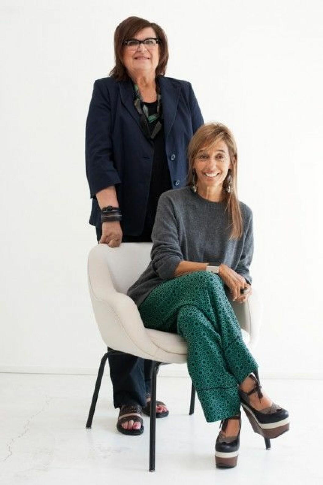 Margareta van den Bosch från H&M och Consuelo Castiglioni från Marni.