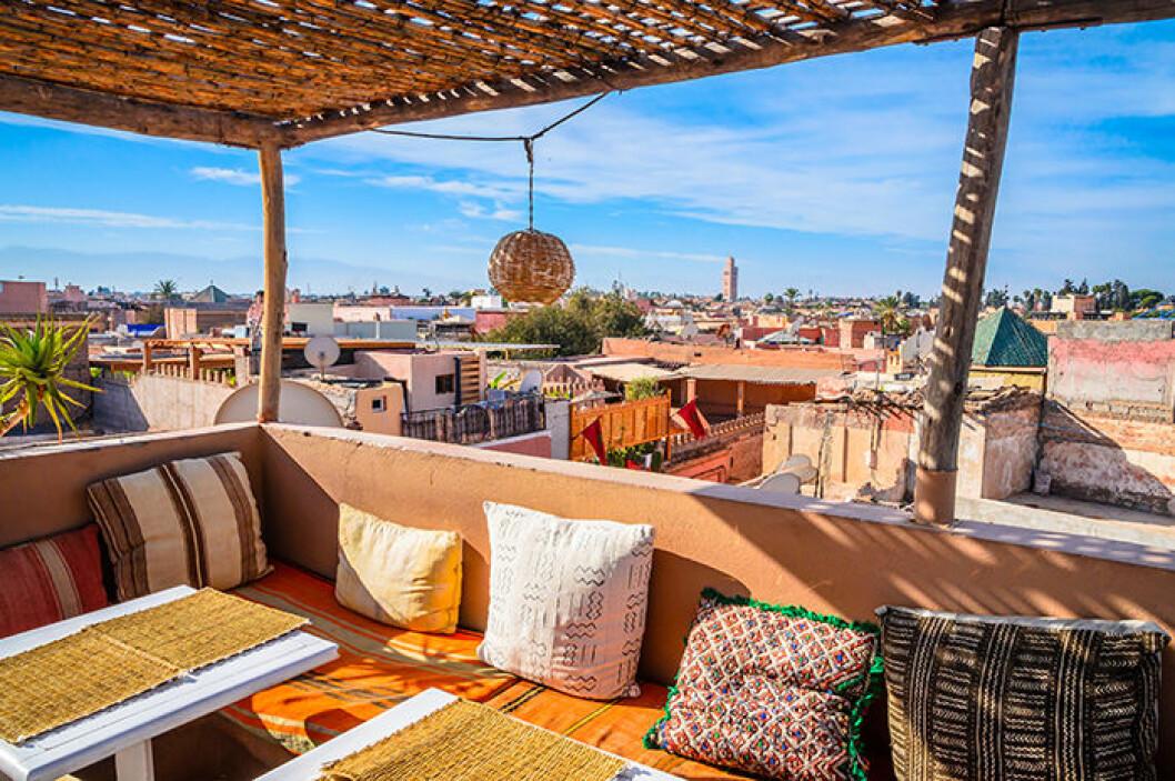 Marrakech bjuder på värme i september, oktober och november