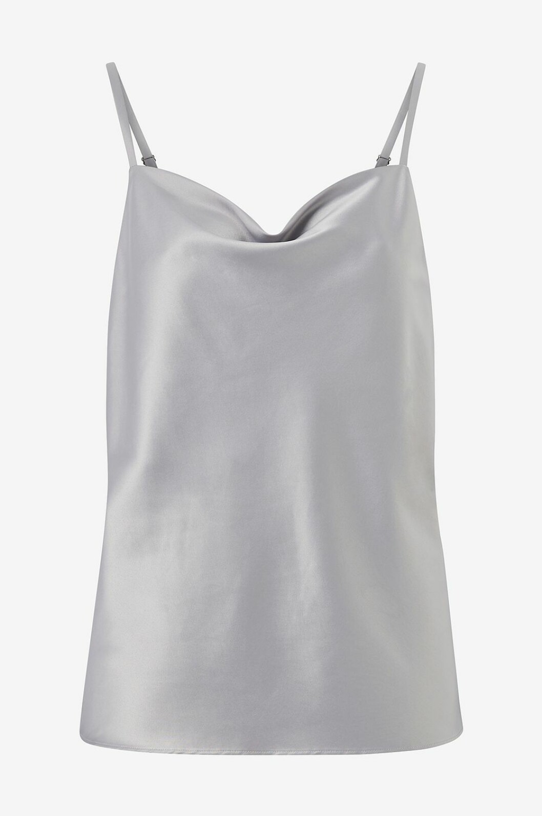 Matchande set: Silverfärgat linne