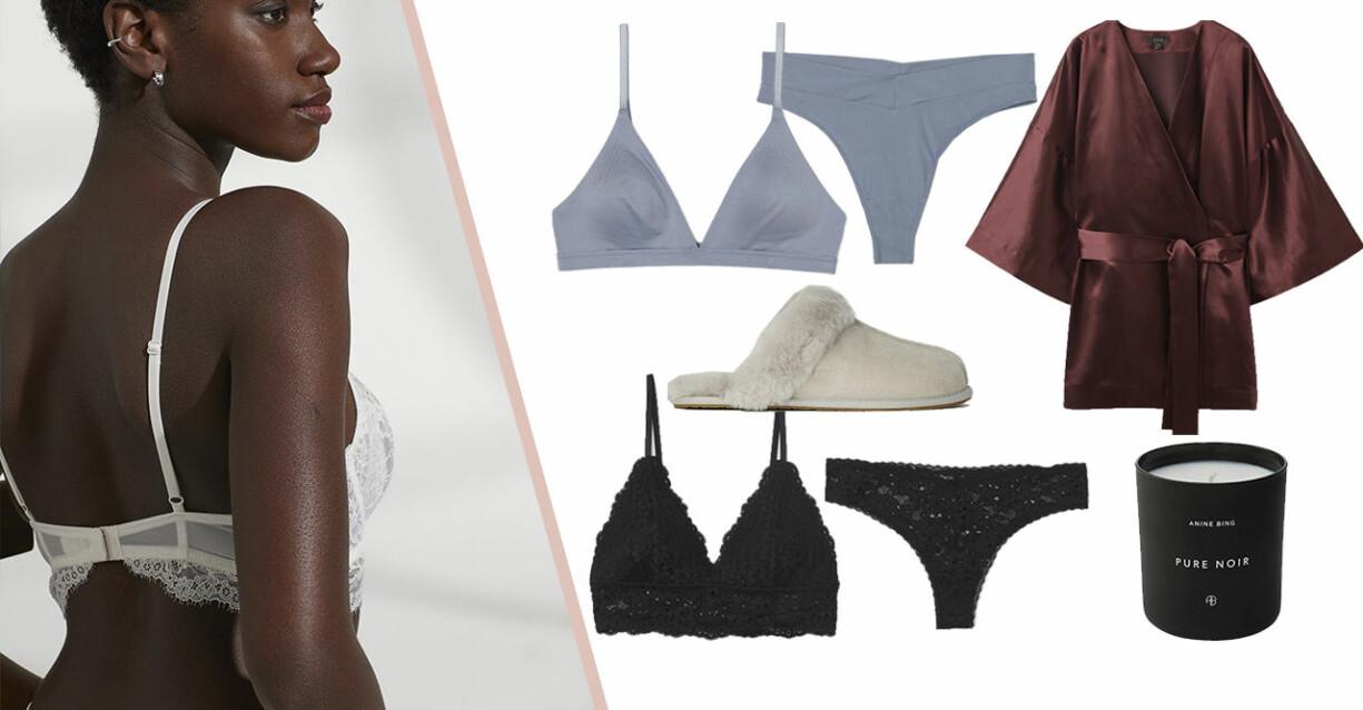 Matchande underklädesset