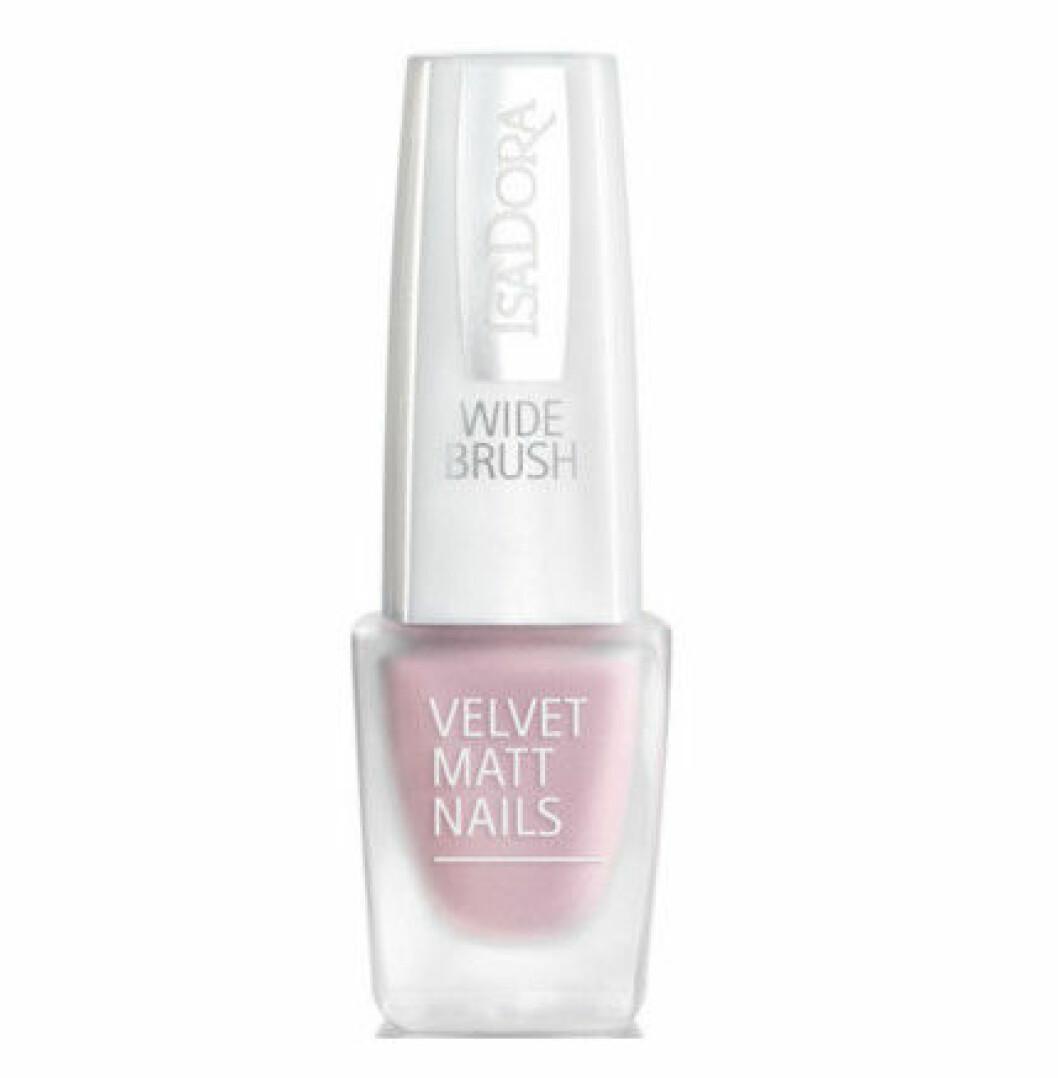 matt nagellack rosa