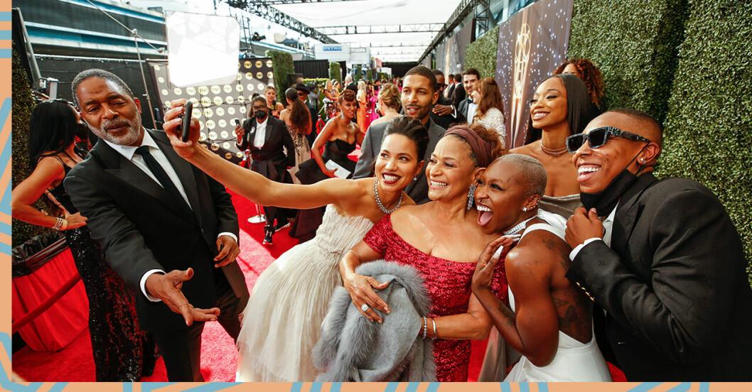 Emmygalan 2021: Här går gästerna på röda mattan
