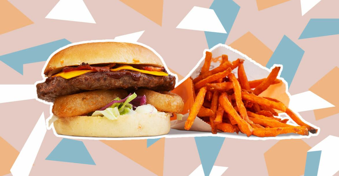 Grand Deluxe Smokey Chipotle och Sweet Potato Fries