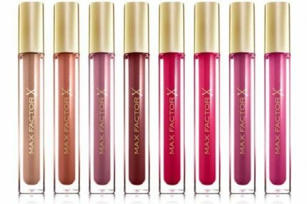 Max Factor Colour Elixir Gloss kostar 110 kr/3,8 ml.
