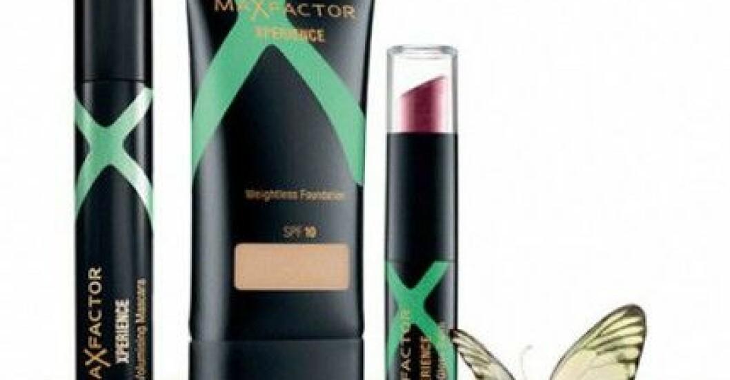 Den nya sminkserien Max Factor Xperience.