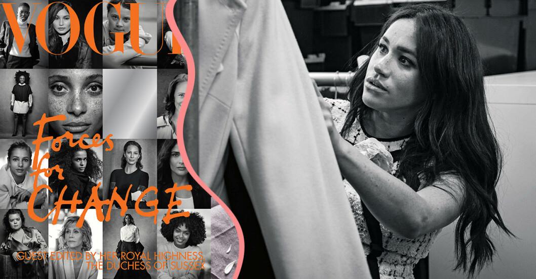 Meghan Markle och Vogue