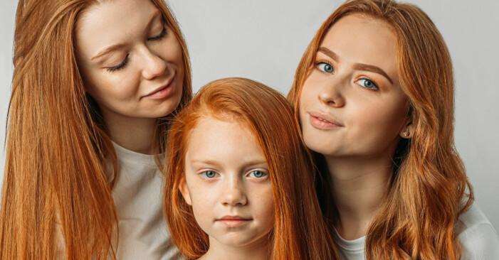mellanbarn med sina syskon