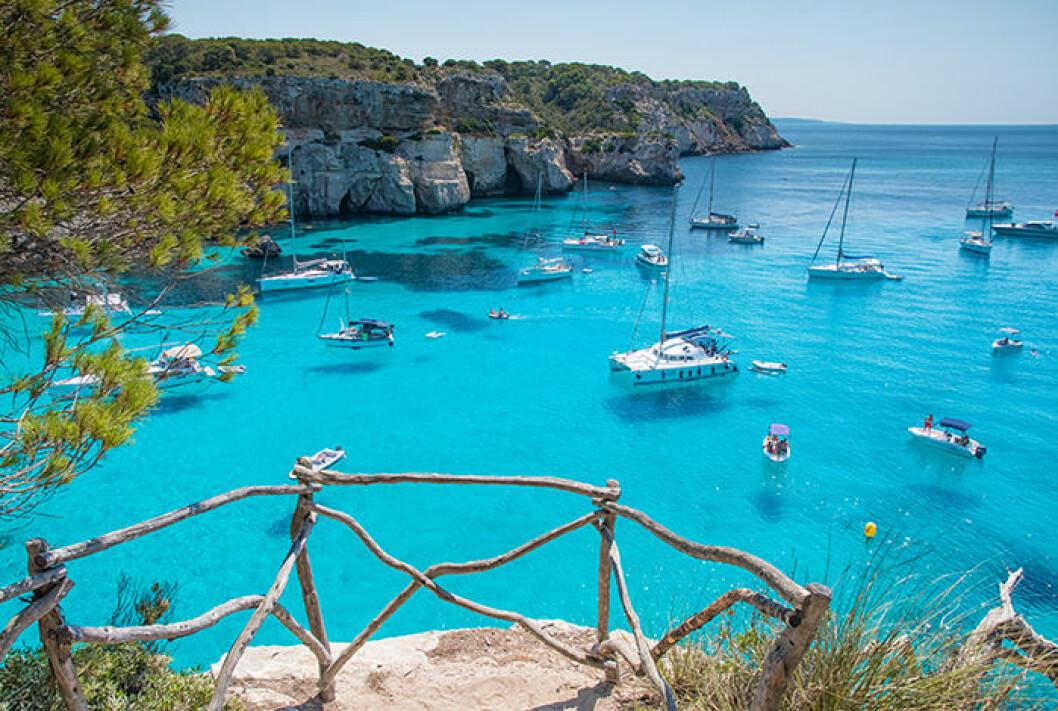 Menorca är en av Balearerna