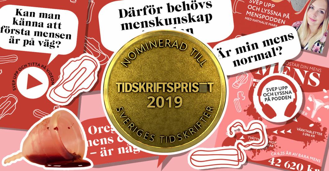 Baaam och Frida nomineras som Årets grepp på Tidskriftspriset 2019