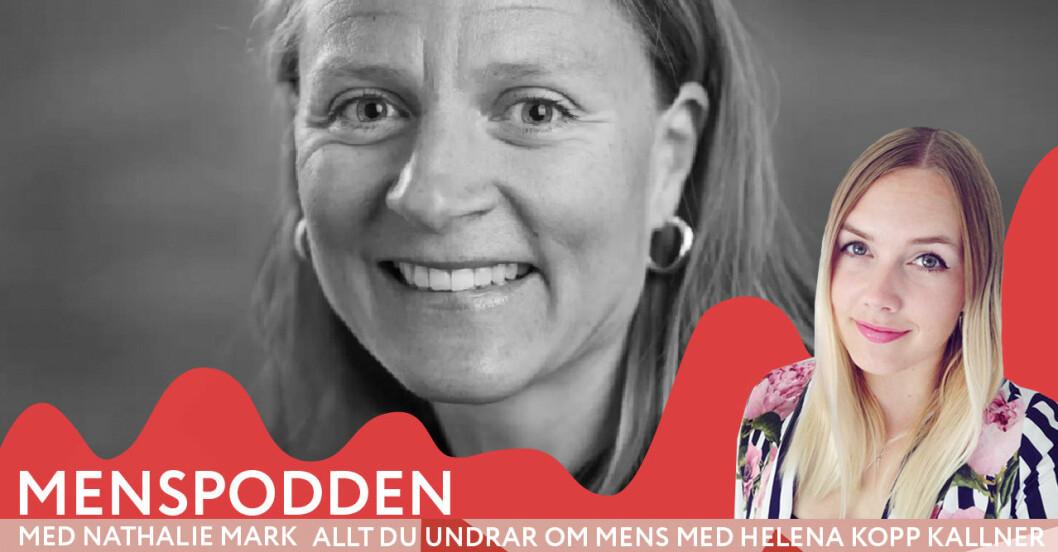 Helena Kopp Kallner i Menspodden svarar på allt du vill veta om mens.