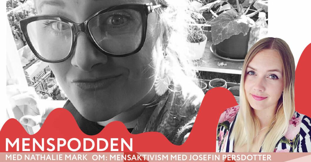 Menspodden med mensaktivisten och forskaren Josefin Persdotter