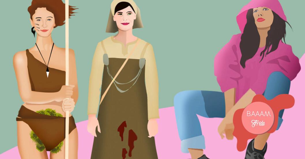 Mensskyddets blodiga historia - från bindor till menskopp