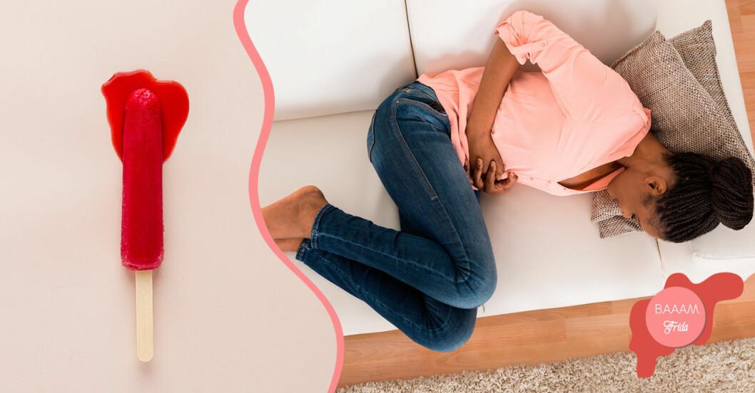Din mensvärk kan bero på myom