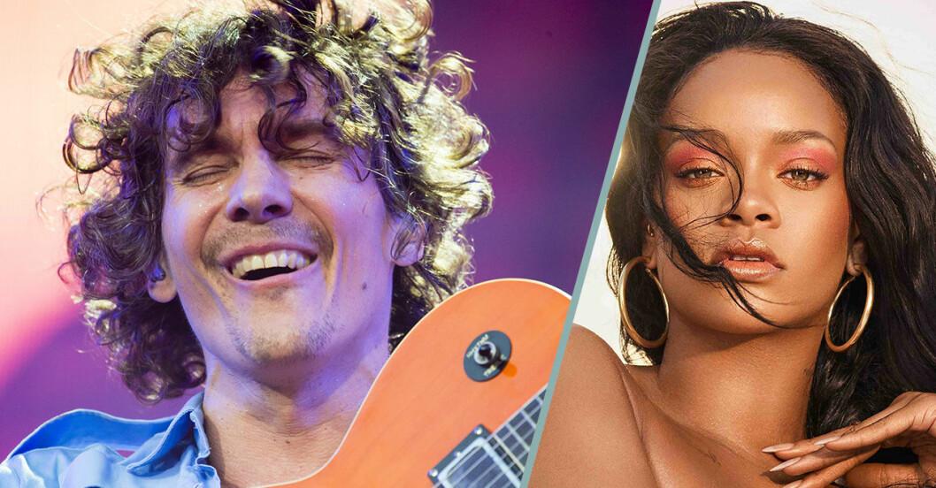 Håkan Hellström och Rihanna bland den mest lyssnade musiken de senaste tio åren.