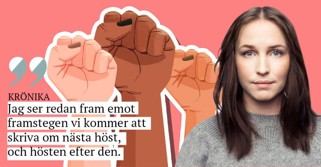 Sofia Börjesson ser tillbaka på två år med metoo – och blickar framåt mot det tredje.