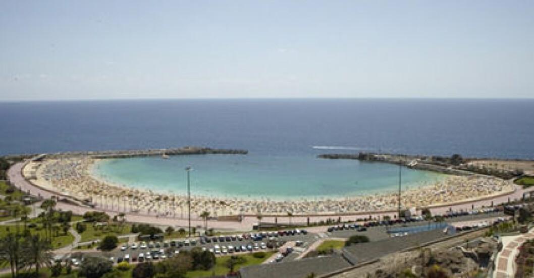 Utsikten från vårt hotellrum.
