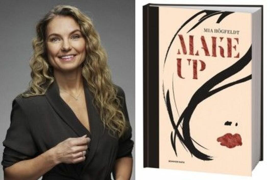 """Mia Högfeldt har släppt boken """"Makeup"""" på Bonnier Fakta."""