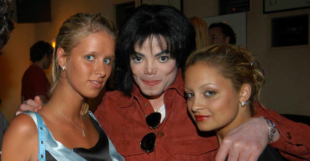 Paris Hilton, Michael Jackson och Nicole Richie