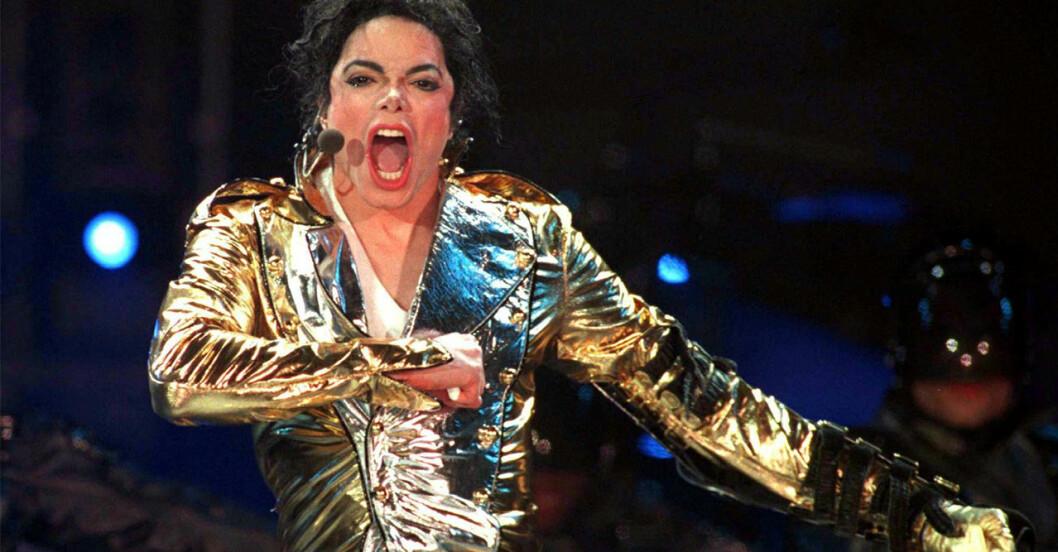 Michael Jackson på scen