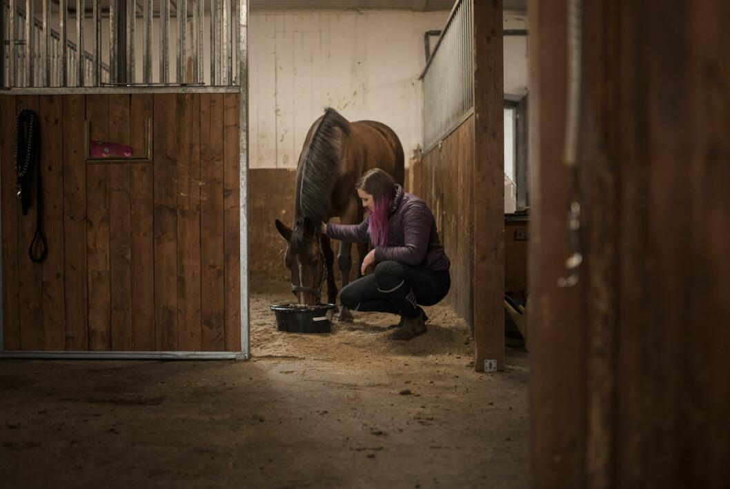 När smärtorna var som värst tvingades Michelle Boije att sluta rida.