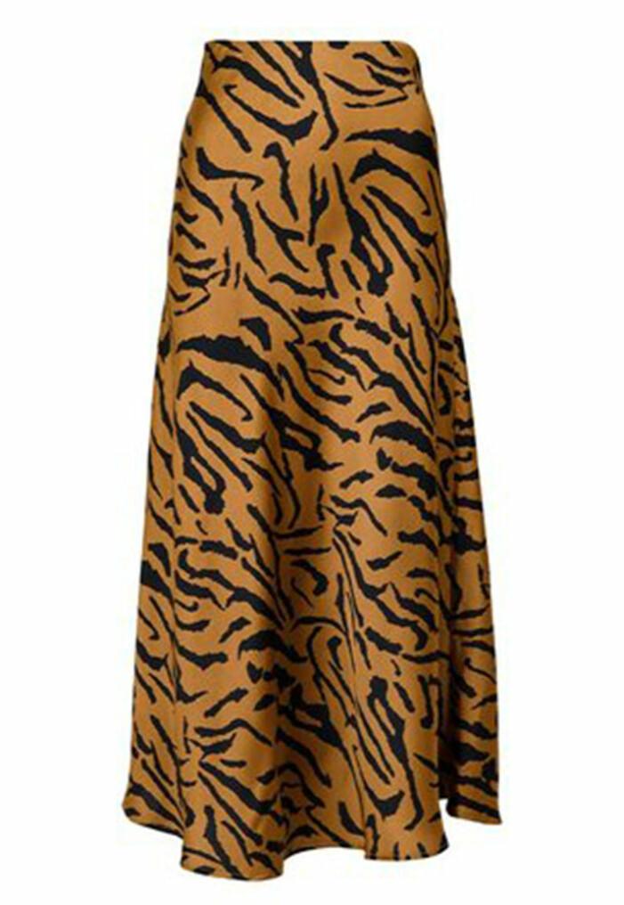 zebramönstrad kjol