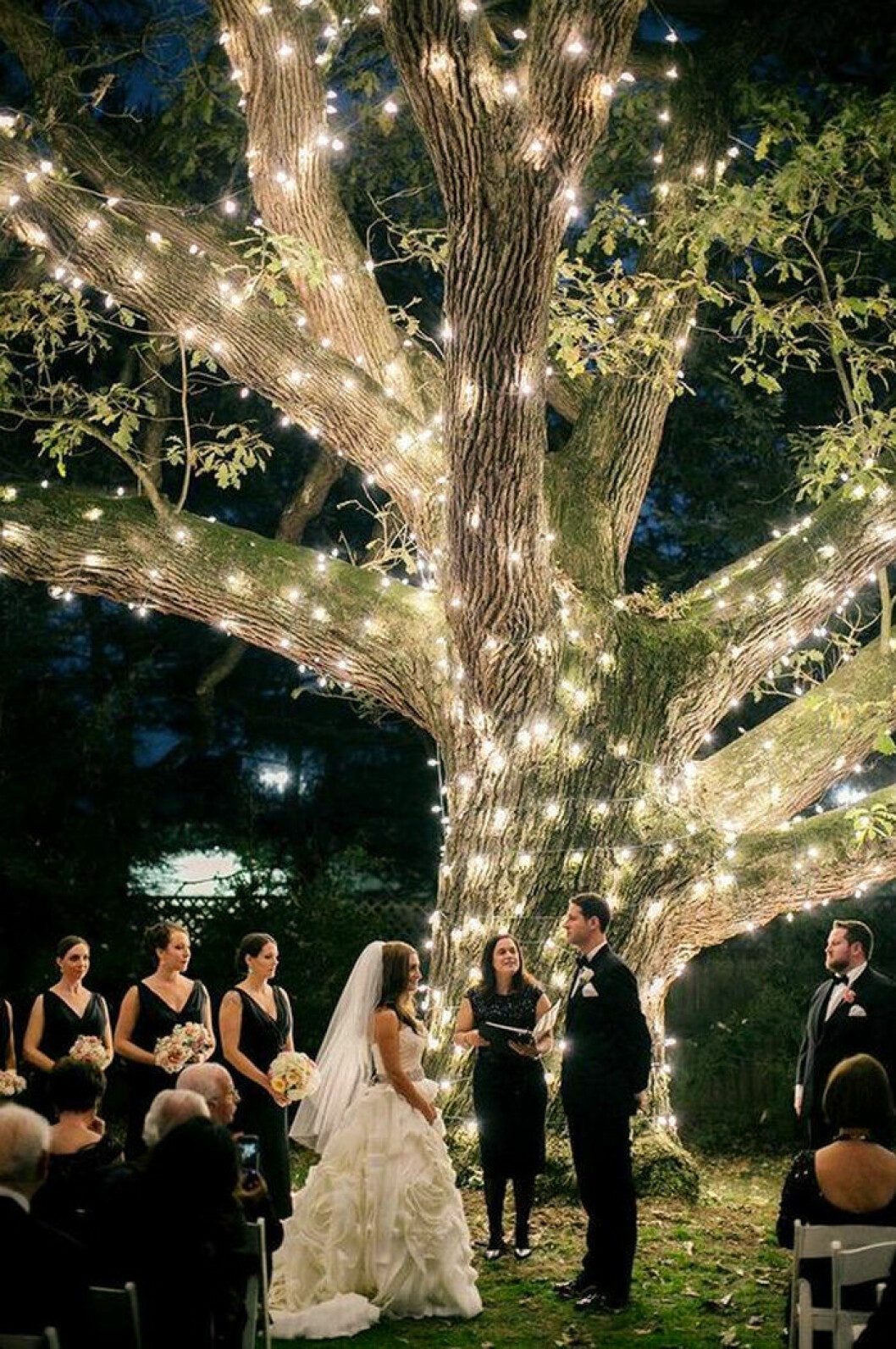 Midnattsbröllop
